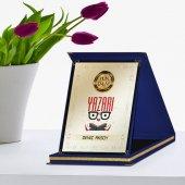 Kişiye Özel Yılın En İyi Yazarı Lacivert Plaket Ödülü 1