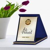 Kişiye Özel Yılın En İyi Pediatrı Lacivert Plaket Ödülü
