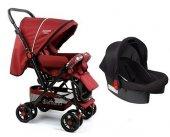 Diamond Baby P 101 Çift Yönlü Travel Sistem Bebek Arabası Ayak Örtüsü Yağmurluk Dahil