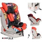 Norfolk Pro Baby Safe Isofixli 9 36 Kg Çocuk Oto Koltuğu Graffity İsofix Sıps Latch Ece R44 4