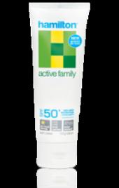 Hamilton Active Family Cream Güneş Kremi Spf50+ 110gr