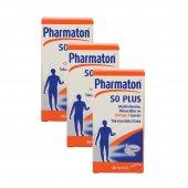 Pharmaton50plus30kapsül3lüpaket