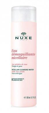 Nuxe Eau Demaquillante Micellaire Aux Petales De Rose 200 Ml Yüz