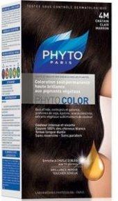 Phyto Color 4m Chatain Clair Marron (Açık Kahve Kestane) Bitkisel