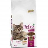 Reflex Adult Cat Food Tavuklu Kedi Maması 15 Kg