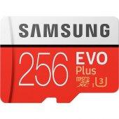 Samsung Evo Plus 256gb Micro Sd Hafıza Kartı 4k U3 C10 100mb S M