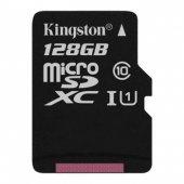 Kingston 128gb Micro Sd Hafıza Kartı C10 45mb S Sdc10g2 128gb