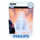 Philips Dipsiz 12v 5w Standart Dipsiz Ampül Seti 12961b2