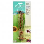 Hagen Vision Kuş Kafes Tüneği Kahve 2 Li Tünek