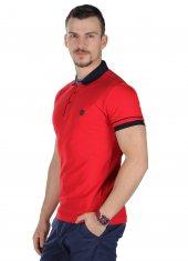 Brango 12436 6 Polo Yaka Açık Kırmızı Tshırt