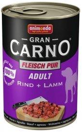 Animonda Gran Carno Sığır Ve Kuzu Etli Yetişkin Konserve Köpek Maması 400 Gr