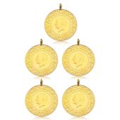 Tam Altın Darphane 5 Adet Paket (2018)