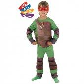 Rubies Ninja Kaplumbağalar Kostüm Lüks 3 4 Yaş