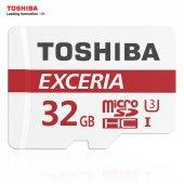 Toshiba 32gb Micro Sd Exceria Hafıza Kartı C10 U3 4k 90mb S