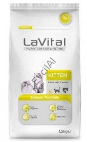 La Vital Kitten Somonlu Yavru Kedi Maması 1,5 Kg