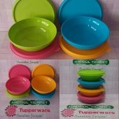 Tupperware Bonbon Kaplar 4 X 400 Ml (Saklama Kabı) Hasgül
