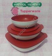 Tupperware Berrak Set 3lü (Saklama Kabı) Hasgül