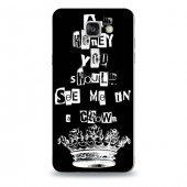 Samsung A7 2016 Kılıf Sherlock Desenli Kılıf