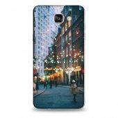 Samsung A9 Kılıf New York Kış Desenli Kılıf