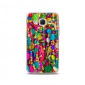 Samsung Core Prime Kılıf Renkli Boncuklar Desenli Kılıf