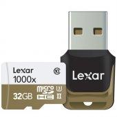 Lexar 32gb Micro Sd Hafıza Kartı 1000x 4k C10 U3 U...