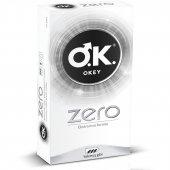 Okey Zero Ekstra İnce Formlu Yokmuş Gibi Prezervatif 10lu