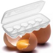10 Hazneli Lüks Yumurta Saklama Kabı
