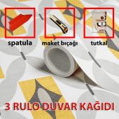 3 Rulo İthal Duvar Kağıdı Çeşitleri + Duvar Kağıdı Seti 99,90