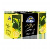 Premium Bardak Poşet Limonlu Yeşil Çay 20li