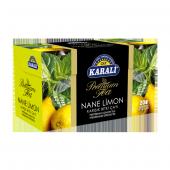 Karali Premium Bardak Poşet Nane Limon Çayı 20li