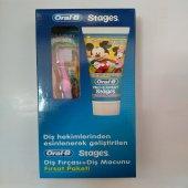 Oral B Stages Çocuk Diş Macunu+çocuk Diş Fırçası