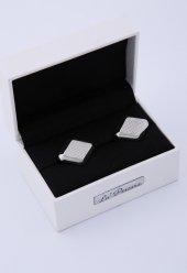Gümüş Renk Kol Düğmesi Kd173