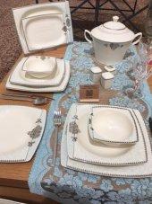 Kütahya Porselen 12 Kişilik 9678 Bone Mare 62 Prc Yemek Takım