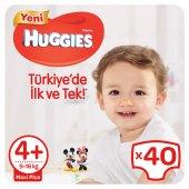 Huggies Bebek Bezi Jumbo Paket Maxi Plus 4+ Beden 40 Adet