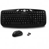 Everest Km 6630 Siyah Kablosuz Q Multimedia Klavye+mouse Set
