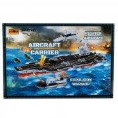 802 Sun Asker Araç Set Uçak Gemisi 894prç. Rst Jıe
