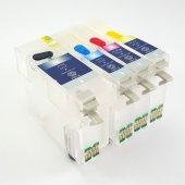 Epson T1001 T1004 Uyumlu Kolay Dolan Kartuş 4 Renk