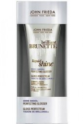 John Frieda Brilliant Brunette Tüm Kahve Saçlar İçin Şok Parlaklık Serumu 75 Ml