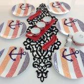 Keramika Çapa 6 Kişilik Kahvaltı Takımı