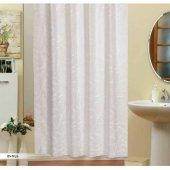 Zethome Evdy Banyo Duş Perdesi 5026 Çift Kanat 2x110x200