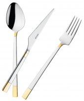 Emsan Duru Gold 84 Parça Kutulu Çatal Kaşık Bıçak Seti Gold