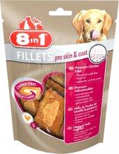 8in1 Fillets Pro Skin Ve Coat Tavuklu Köpek Ödülü Small 80gr