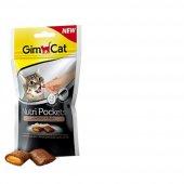 Gimcat Nutri Pockets Kedi Ödülü Tavuk Biotin 60gr...