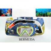 Bermuda Maske & Şnorkel Seti 2303a 121