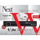 Next Twin Diamond Çift Tuner Full Hd Uydu Alıcı