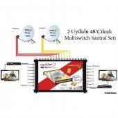 2uydulu 48çıkışlı Multiswitch Santral Seti