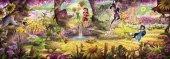 4 416 Komar Fairies Forest (Perili) Çocuk Duvar Kağıdı