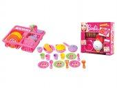 21 Parça Barbie Bulaşık Seti 7533