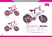16 Jant Prenses Kız Çocuk Bisikleti (Bagajlı Kapaklı 16 55)