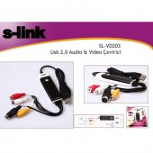 S Link Sl Vd203 Usb 2.0 Audio Video Çevirici